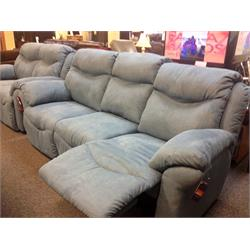 Double Reclining Sofa/Stationary Love Seat 547 Image