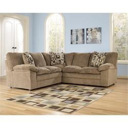 Renick Brown 2pc Sectional 144 02 Image