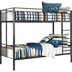 Twin/Twin Metal Bunk Bed B109-57 Image