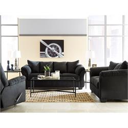 Darcy Black Living Room 75008 Image