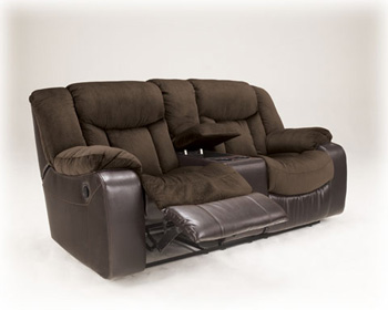 DBL Rec Loveseat w/Console 79202 Image